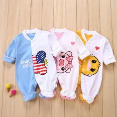 Body dài tay liền thân dài taybodysuit cotton cho bé sơ sinh hàng đẹp xuất hàn đảm bảo an toàn cho trẻ sử dụng cam kết như hình