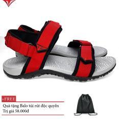 Giày dép SANDAL quai hậu nam Việt Thủy kiểu dáng thời trang(đỏ)