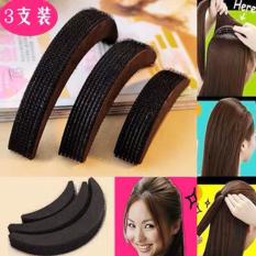 Bộ kẹp mái phồng 3 kích cỡ chất liệu xốp tạo cho các nàng các kiểu tóc xinh xắn