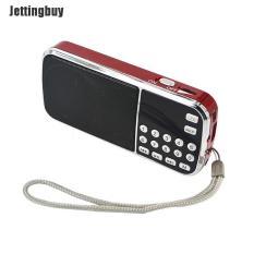 Jettingbuy Loa Mini Cầm Tay L – 088AM Đèn Pin Máy Nghe Nhạc MP3 TF AUX AM Đài FM