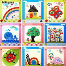 Tự Làm Nút Vẽ Tranh Vật Liệu Tương Tác Đồ Chơi Giáo Dục Trẻ Em