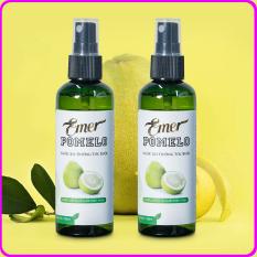 Bộ 2 chai Nước xịt dưỡng tóc tinh dầu bưởi Pomelo (100ml x 2) nuôi dưỡng tóc từ gốc đến ngọn giúp giảm rụng tóc*, giúp tóc mọc nhanh , dày & dài hơn