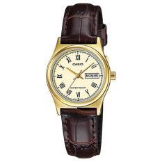Đồng hồ nữ dây da Casio Anh Khuê LTP-V006GL-9BUDF