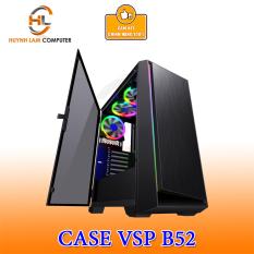 Thùng máy tính Case VSP B52 Gaming kính cường lực