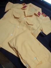 Bộ quần áo công an trẻ em 1-12 tuổi (không phụ kiện)