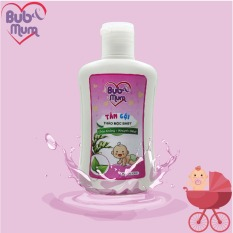 Sữa tắm gội cho bé 100ml BuB&MuM chiết xuất Trầu Không và Khuynh Diệp giữ ấm cơ thể