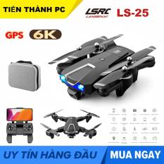 KÈM TÚI ĐỰNG – Flyacm LSRC LS-25 Máy Bay Điều Khiển Từ Xa Camera Kép GPS wifi 5G 6K HD Truyền Ảnh Trực Tiếp Về Điện Thoại