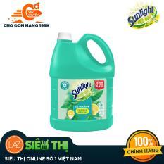 Nước rửa chén Sunlight Diệt Khuẩn chai 3.6kg
