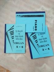 bộ lý thuyết và thực hành piano organ