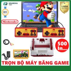 Máy Chơi Game Băng 500 Game – Máy Familycomputer huyền thoại – Có sẵn 500 games hay nhất của NES 4 nút như: Contra, Mario, Ninja cứu mẹ, Bắn Tank, Bác sỹ Mario, Kage, Tiny toon, Chip & Dale, Đá bóng chưởng, Ninja Mèo …..