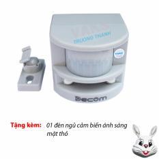 Nơi nào bán 01 Bộ cảm biến hồng ngoại chống trộm lập HT1A + Tặng 01 đèn ngủ tự động mặt thỏ