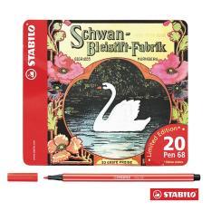 1 Hộp 20 cây bút lông màu STABILO Pen 68