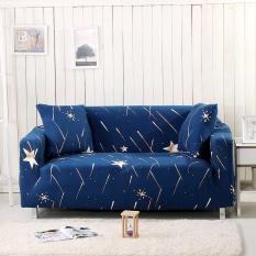 1-Seater Universal Stretch Sofa Cover Non-Slip Couch Sofa Slipcover(Length Range for 90-140cm / 35.43-55.12″)