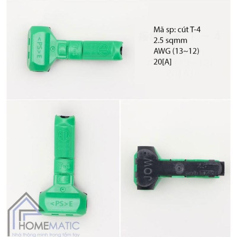 Bảng giá 10 Chiếc cút nối dây điện Hàn Quốc JOWX - Chữ T