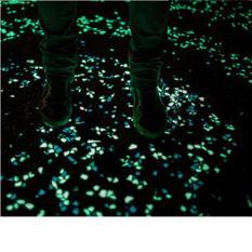 10 viên đá aqua dạ quang lung linh