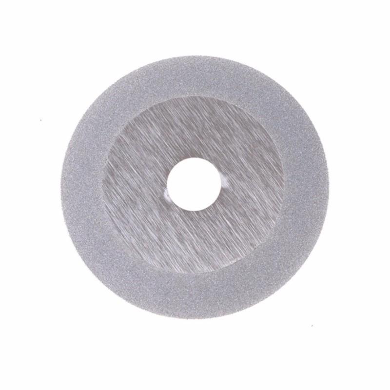 100mm Diamond Coated Flat Wheel Disc Glass Stone Grinding Cutting Tool - intl