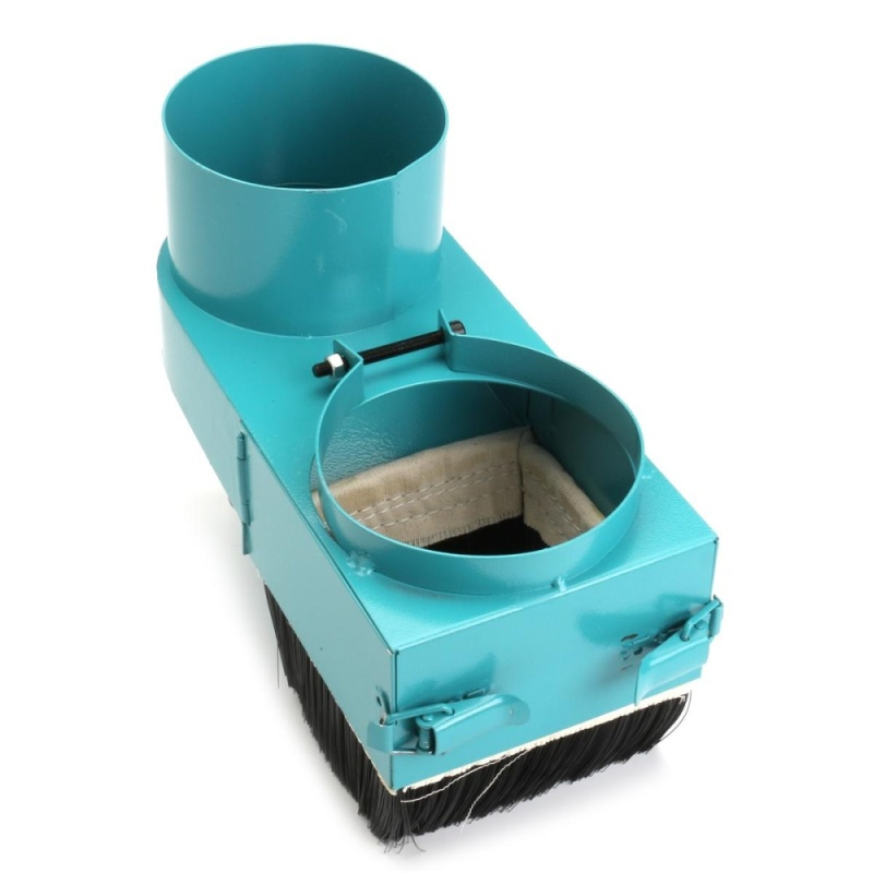 100mm Spindle Dust Dustproof Shoe Vacuum Cleaner Cover For Woodwork CNC Router - intl