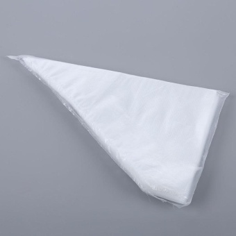 100Pcs Disposable Cream Piping Cake Pastry Cupcake Decorating Bags - intl