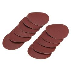 10x 50mm 2inch Sanding Discs Sandpaper 400 Grit - intl
