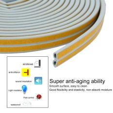 12m Foam Draught Excluder D Type Seal Strip Insulation for Door Window New - intl
