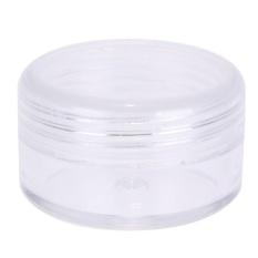 (Giao hàng miễn phí cho cả ba chiếc đến Hà Nội)12 cái 5 ml Nhỏ Nhựa Trong Hũ Đựng Đựng Kem Mỹ Phẩm Thủ Công-quốc tế (Clear)