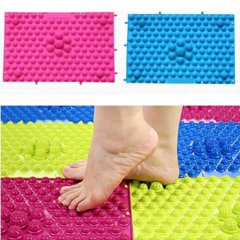 1pcs Massager Foot Pad Acupuncture Reflexology bath mat rugs bathTPE - intl