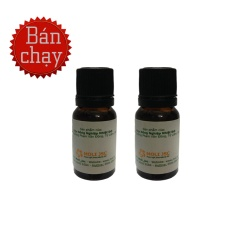 2 chai tinh dầu sả chanh đuổi muỗi Viện nông nghiệp (10ml)