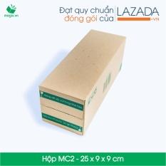 20 Thùng (Hộp) carton – Mã HN_MC2 – Kích thước 25*9*9 (cm)