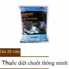 20 Viên Thuốc Diệt Chuột Xanh Thông Minh Storm