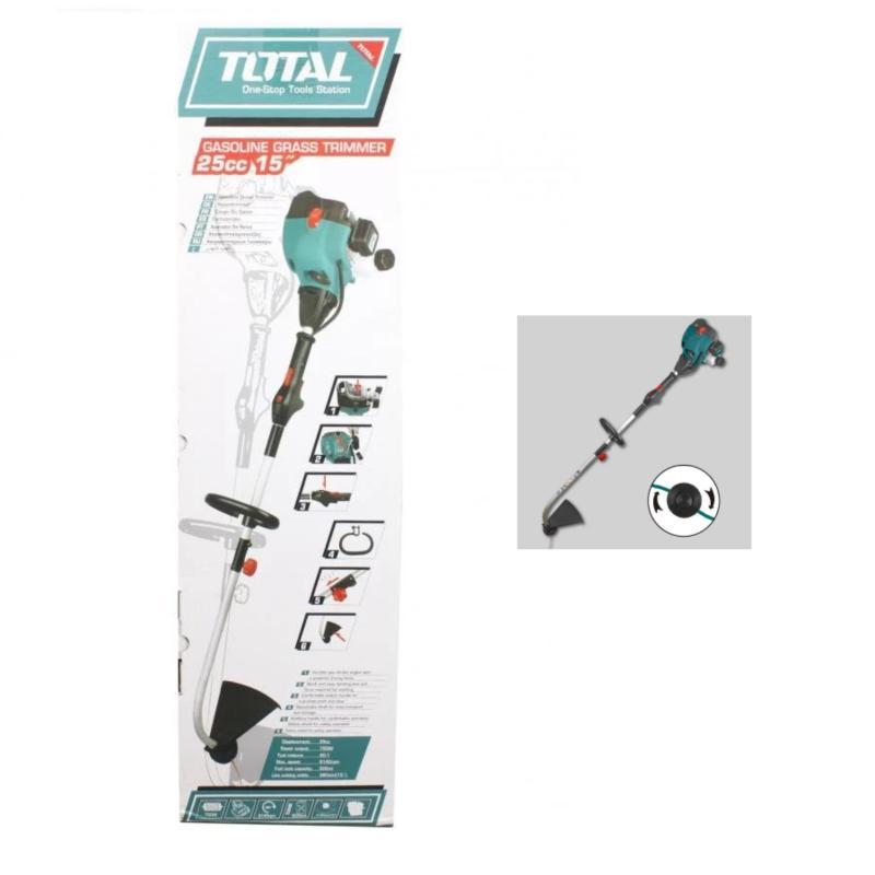 2HP - 1.5 KW MÁY CẮT CỎ DÙNG XĂNG Total + KÈM lưỡi cắt sắt - TP445441