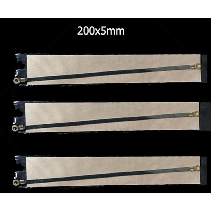 3 Bộ dây nhiệt thay thế máy hàn túi 200x5mm (đỏ)