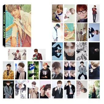 30pcs Set KPOP Personal LOMO Cards BTS BANGTAN BOYS Photo Picture Poster H02 V - intl