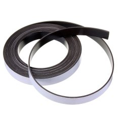 3m Self Adhesive Rubber Magnetic Tape Magnet Strip 12.7mm (1/2) Wide x 1.5mm - intl