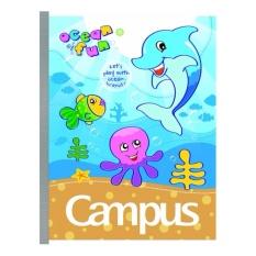 5 quyển vở 4 ô li Campus cho bé tiểu học