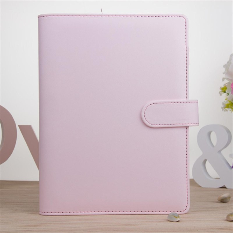 Mua A5 Classic Weekly Monthly Planner Diary Loose-Leaf-Ring-Binder Notebook Cover # Pink