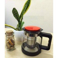 Bình pha trà có lưới lọc dung tích 1.8L + Tặng đầu lọc nước