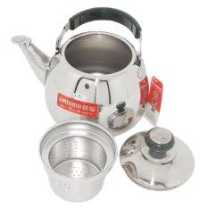 Ấm pha trà inox có lõi lọc trà Shunbin SB-CLB1.5L-5 1.5L (inox)