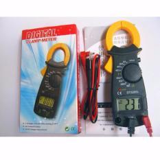 Ampe kế cầm tay kẹp vạn năng kỹ thuật số kẹp mét DT3266L tặng 2 bin