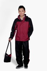 Áo mưa bộ K21 (Đỏ mận)