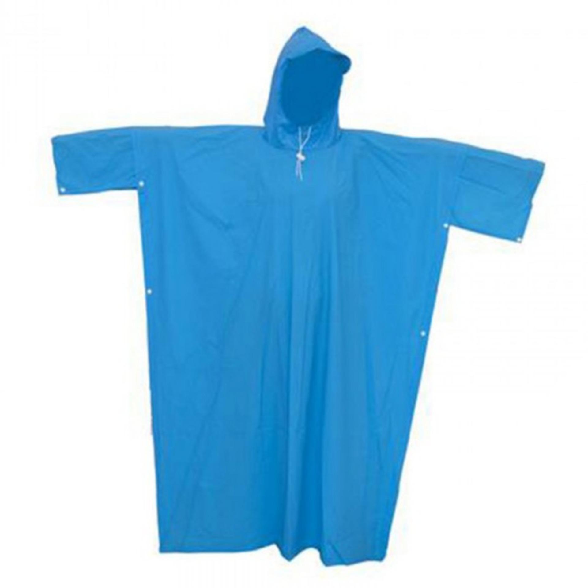 Áo mưa cánh dơi cao cấp vải nhựa ( Màu Xanh dương )