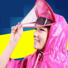 Áo mưa choàng có kính che mặt tiện lợi (màu xanh)- Kmart