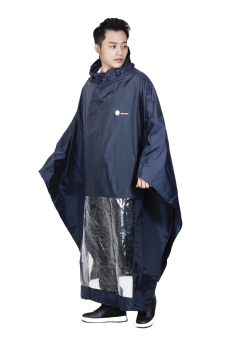 Áo mưa choàng Sơn Thủy S8T (Đen)