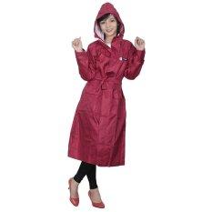 Áo mưa thời trang Sơn Thủy ST25 (Đỏ đậm)