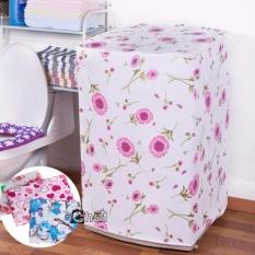 Áo trùm máy giặt chống thấm loại dày dùng cho máy cửa trên 55x58x87 cm ( Ngẫu nhiên)