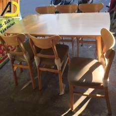 Bàn ăn Mango 6 ghế tn cao cấp xuất khẩu Korea