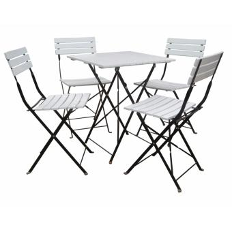 Bàn ghế ngoài trời QN-02