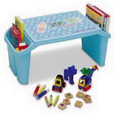 Bàn tập ngồi học có khay đựng đồ tiện dụng cho bé