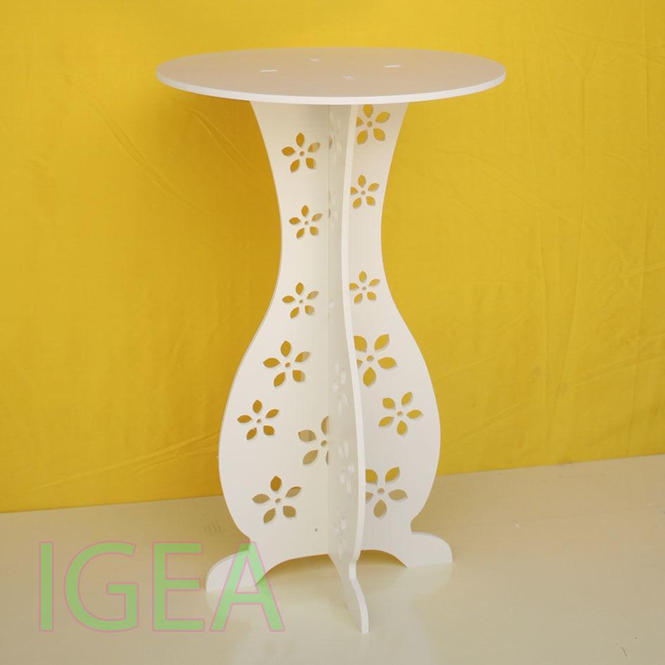 bàn tròn hoa đơn cao 60 IG 206