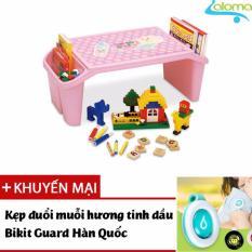 Bàn vẽ học chơi đọc truyện có hộp đựng cho bé Child Desk CD-BL (Pink)