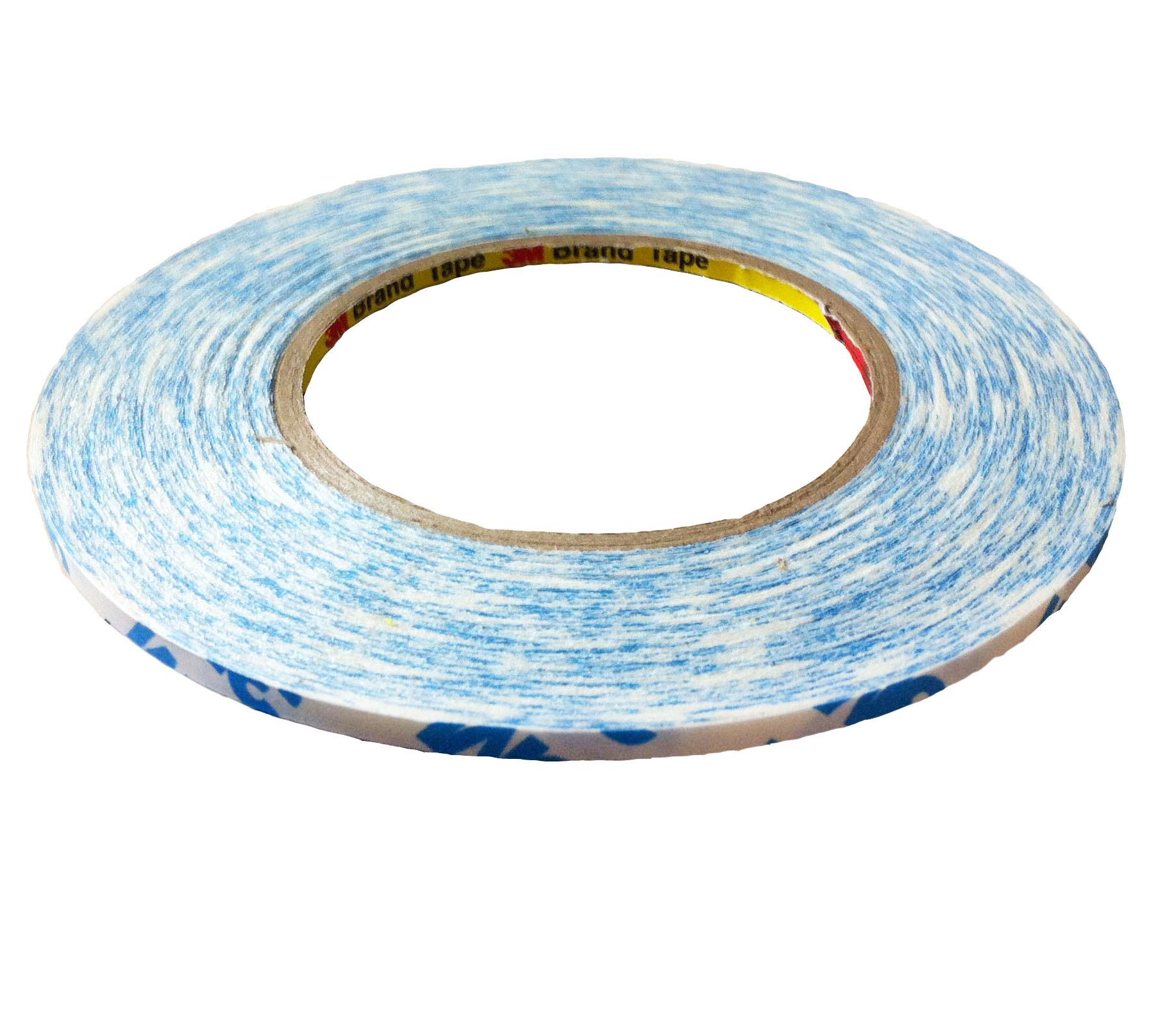 Băng keo 2 mặt chịu nhiệt 3M 90775 5mmx50m (Trắng phối xanh)